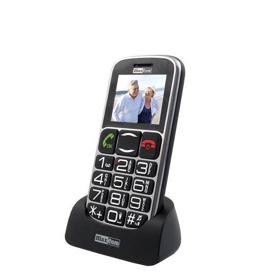 TELEFON DLA SENIORA MAXCOM MM461 BB SOS Z BAZĄ
