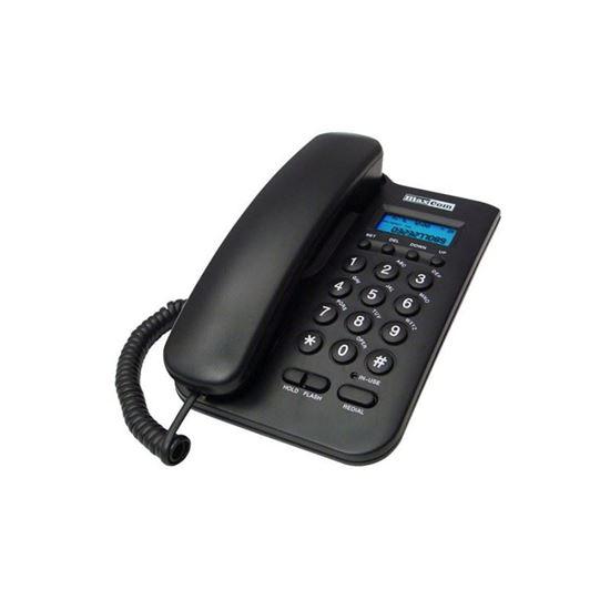 Telefon stacjonarny Maxcom KXT 100 Czarny