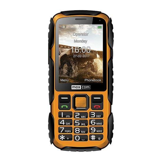 Wodoodporny telefon Maxcom MM920 Strong IP67 Żółty