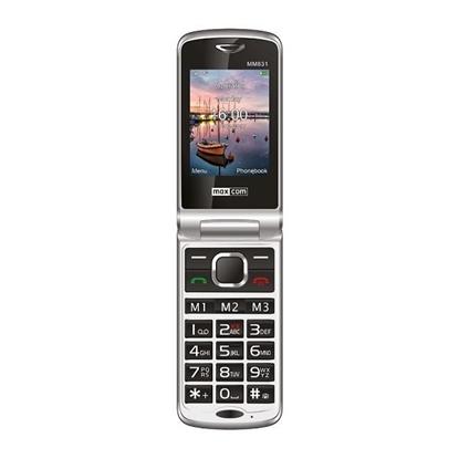 Telefon z klapką dla Seniora MAXCOM Comfort MM831