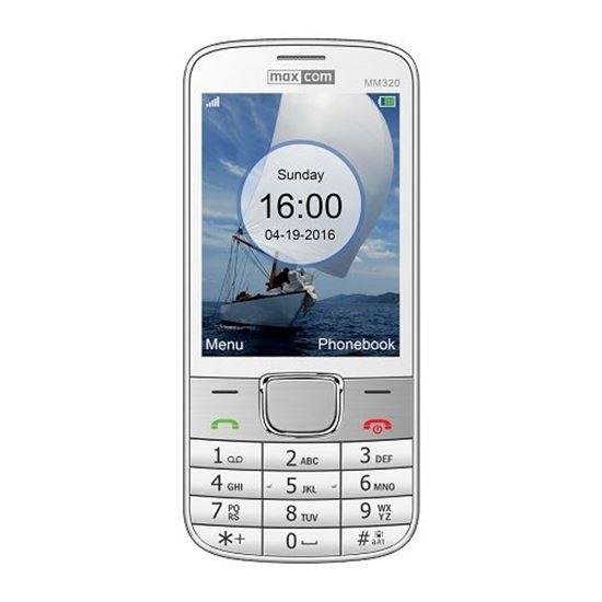 TELEFON KOMÓRKOWY MAXCOM MM320 Biały