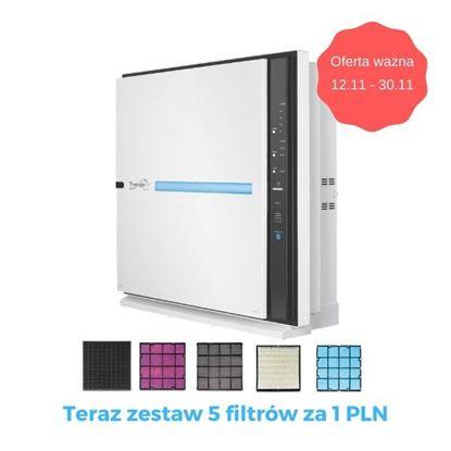 Oczyszczacz powietrza - ZEPTER THERAPY AIR ION + Zestaw Filtrów za 1PLN