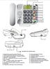 TELEFON STACJONARNY DLA SENIORA MAXCOM KXT480 Biały