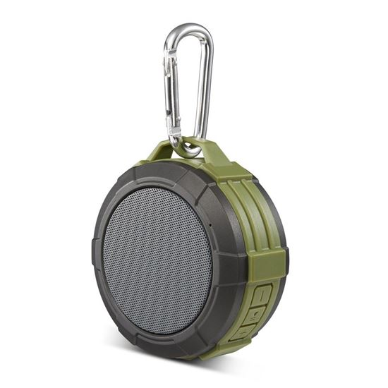 GŁOŚNIK Bluetooth MAXTON TELICA GREEN Wodoodporny Zielony