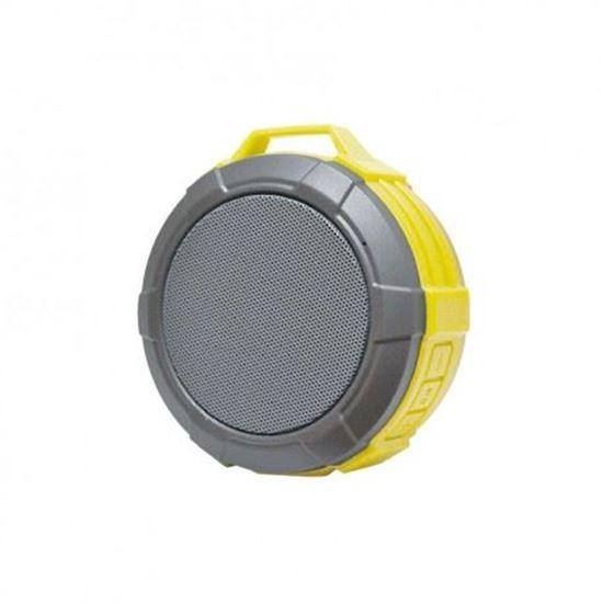 GŁOŚNIK Bluetooth MAXTON TELICA GREEN Wodoodporny Żółty