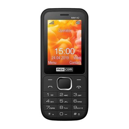 Klasyczny telefon komórkowy MAXCOM Classic MM142 Czarny