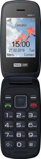 Telefon komórkowy MAXCOM COMFORT MM 817 Czarny Dla Seniora