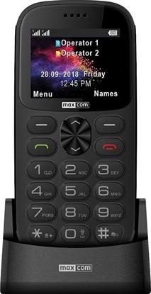 Telefon komórkowy dla Seniora MAXCOM Comfort MM471 Szary