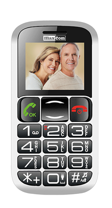 Telefon komórkowy dla seniora MM462 MAXCOM Comfort