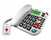 Telefon stacjonarny z funkcją SOS MAXCOM KXT481
