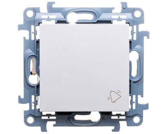 Simon 10 Przycisk /dzwonek/ biały CD1.01/11