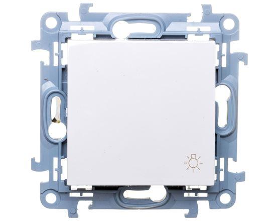 Simon 10 Przycisk /światło/ biały CS1.01/11