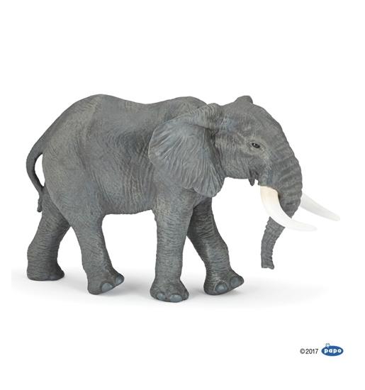Papo XL 50198 Słoń afrykański   26x14,7x16,2cm