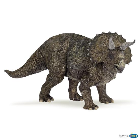 Papo Dinozaur Triceratops  22x6,3x10,5cm (55002)