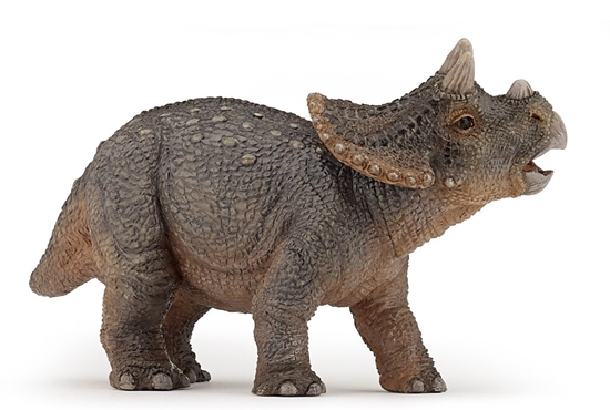 Papo 55036 Triceratops młody  3x10x6cm (55036 RUSSELL)