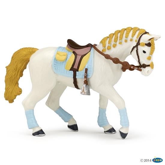Papo 51545 stylowy koń dla kobiet  15x5x10cm (51545 RUSSELL)