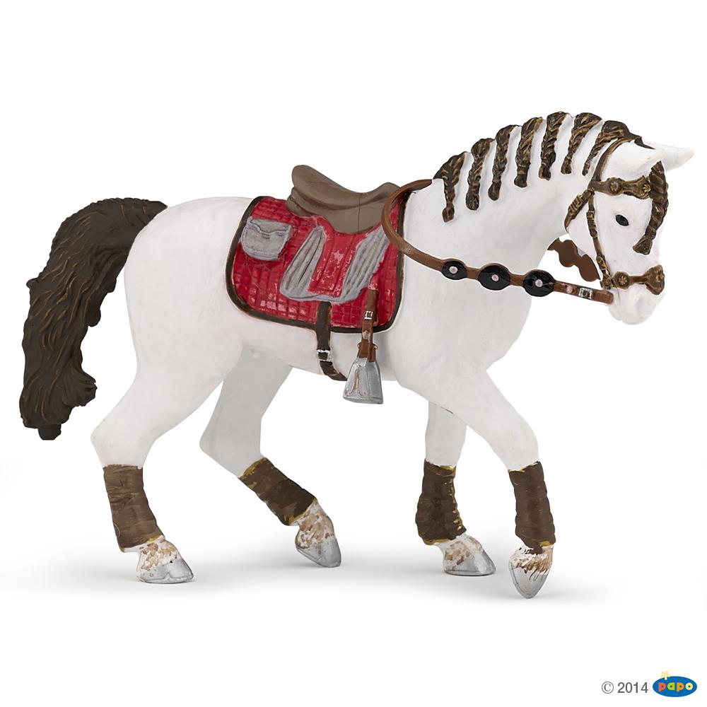 Papo 51546 Koń osiodłany trendy