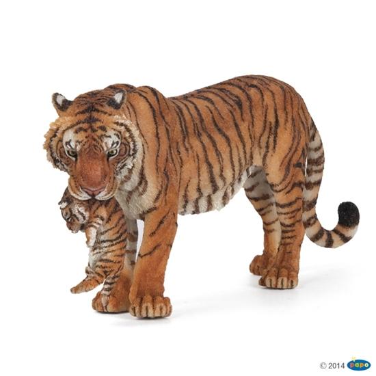 Papo 50118 Tygrysica z młodym