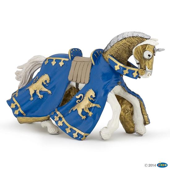 Papo 39774 Koń księcia Richarda niebieski