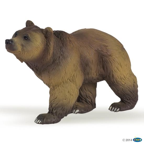 Papo 50032 Niedźwiedź pirenejski  11x4x6cm