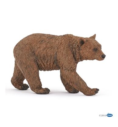 Papo 50240 Niedźwiedź brunatny  9,9x3,5x8,5cm
