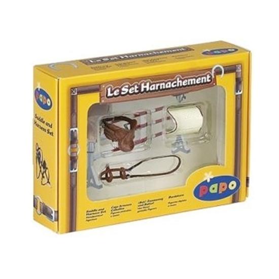 Papo 50091 Zestaw akcesoriów dla konia w pudełku