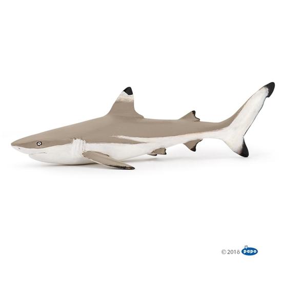 Papo 56034 Żarłacz rafowy czarnopłetwy   14,6x3,6x6,8cm