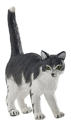 Papo 54041 Kot biało-czarny