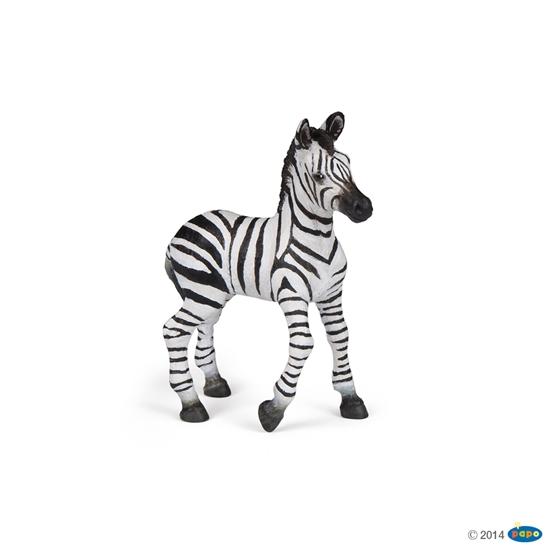Papo 50123 Zebra źrebię  8x3x9cm (50123 RUSSELL)