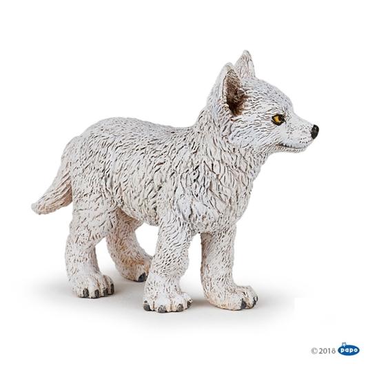 Papo 50228 Wilk polarny młody   5x6x2,6cm