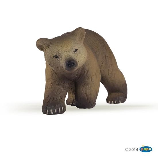 Papo 50031 Niedźwiadek pirenejski  6x2x3cm (50031 RUSSELL)