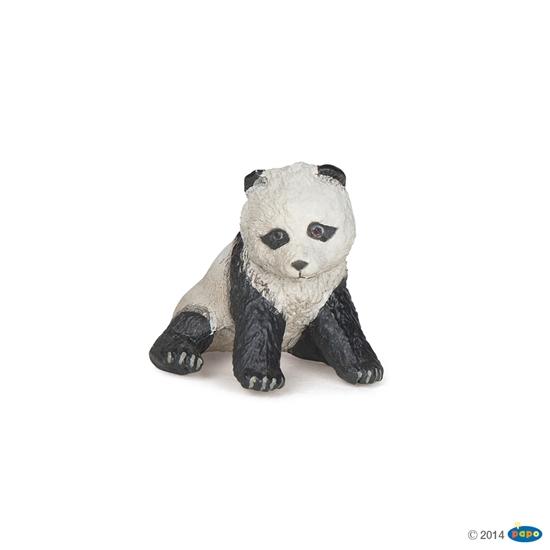 Papo 50135 Panda młoda siedząca  4x4x3cm