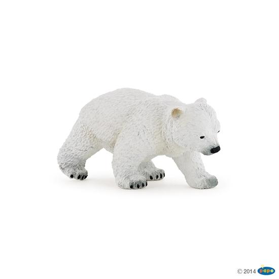 Papo 50145 Niedźwiedź polarny idący młody