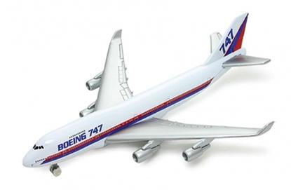 Welly Samolot Boeing 747 -model metalowy 14x13cm w pudeł (130-18837)