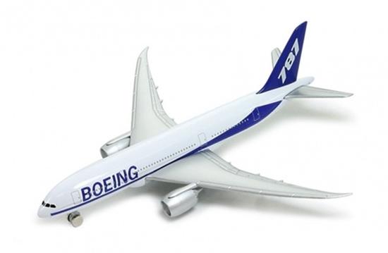 Welly Samolot Boeing 787  -model metalowy  14x13cm w pud (130-18830)