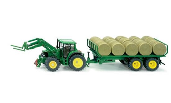 SIKU 3862 Traktor ze słomą (GXP-505916)
