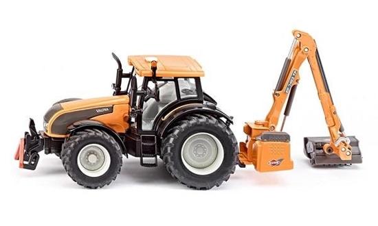 SIKU Traktor z kosiarką na wysięgniku (3659)