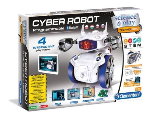 Clementoni Cyber Robot  programowalny Bluetooth (60939 CLEMENTONI)