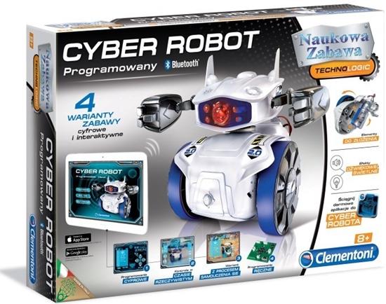 Clementoni Cyber Robot 60596  -programowany Bluetooth (60596 CLEMENTONI)