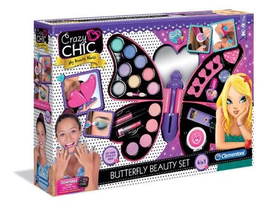 Clementoni Motyl Crazy Chic kosmetyki malowidła (78236 CLEMENTONI)