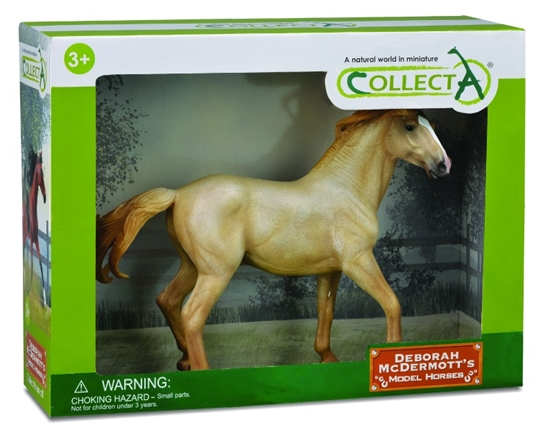 CollectA 89807 Mustang Palomino light deluxe 1:12 (004-89807)