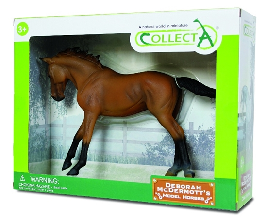 CollectA 89578 klacz Thoroughbred Bay  1:12 w pudełku (004-89578)