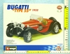 BBURAGO KIT 1:24 BUGATTI TYPE 55 (1932) - KIT DO SKŁADANIA