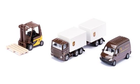 Siku 6324 Pojazdy logistyczne UPS - set podarunkowy (S6324)