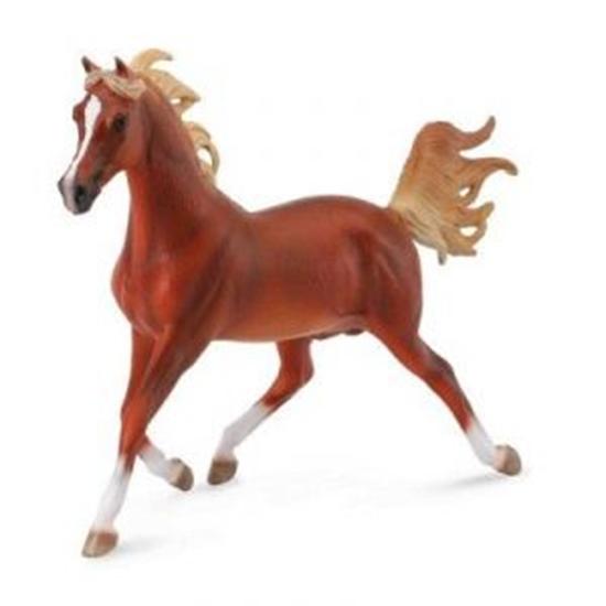 CollectA 88538 koń arabski kasztan,  skala 1:12 (004-88538)