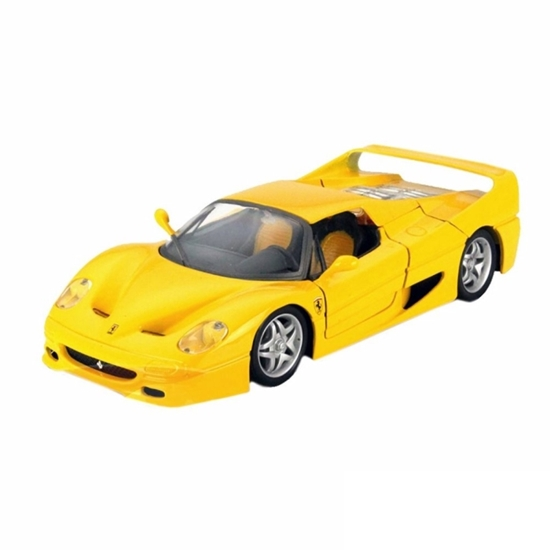 Bburago 1:24 Ferrari F50  -żółty
