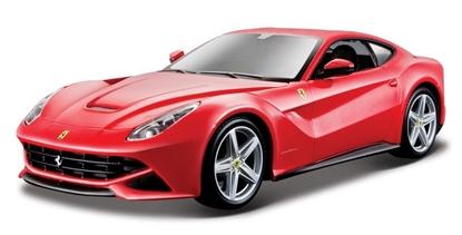 Bburago 1:24 Ferrari F12 Berlinetta -czerwony