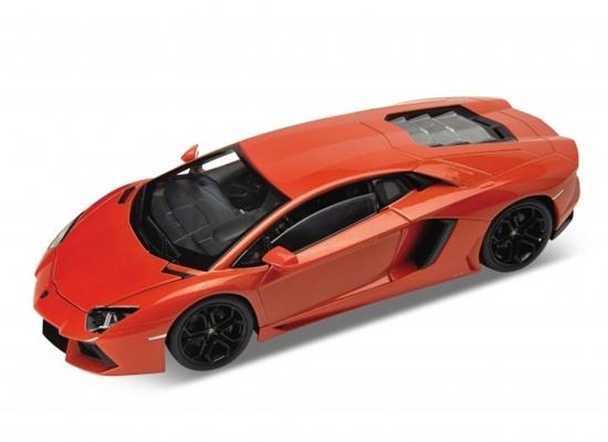 WELLY 1:24 Lamborghini Aventador LP700-4  pomarańczowy