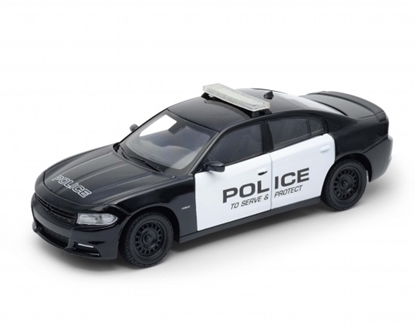 WELLY 1:24 Dodge Charger Pursuit 2016 -police czarny