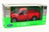 WELLY 1:24 Ford F-150 Regular Cab 2015  czerwony